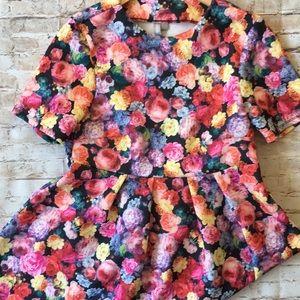 Asos Floral Shift Dress